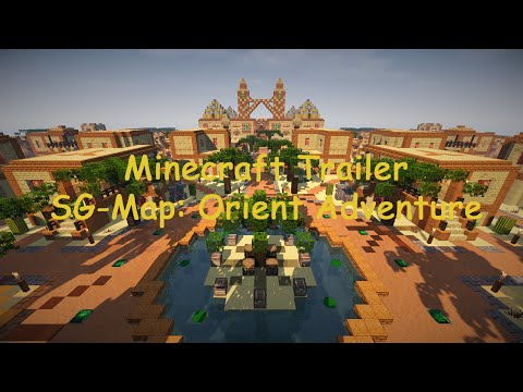 Minecraft Trailer Survival Games Map: Orient Adventure