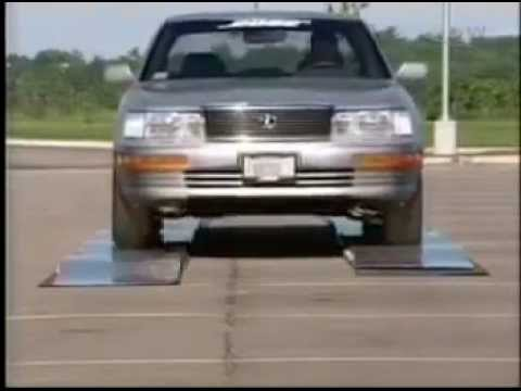 Bose Active Suspension   Leaping Lexus