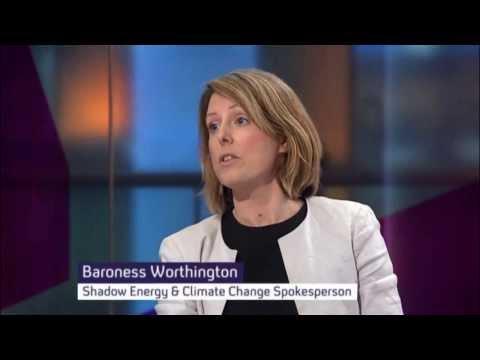 Baroness Bryony Worthington and Bjorn Lomborg debate Geoengineering and the IPCC Report 2013