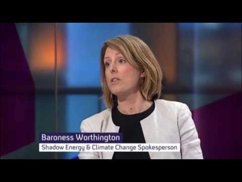 Baroness Bryony Worthington and Bjorn Lomborg debate Geoengineering and the IPCC Report 2013