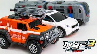 Tobot Athlon s3 Gunman Janggo Rescue Ambulan Subway Metron Vehicle Transformers Robot Car Toys