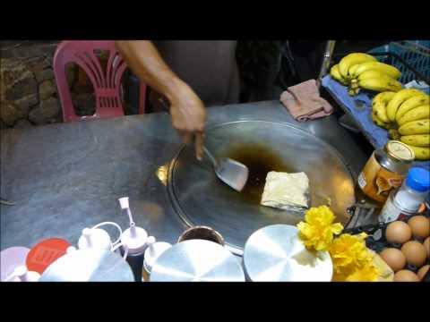 Thai Banana Pancake in Koh Samui