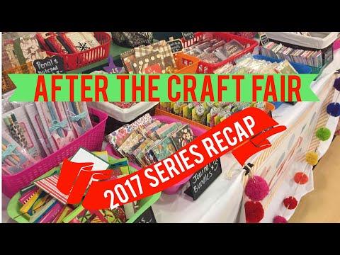 After the Craft Fair | 2017 Series Recap | Best & Worst Sellers