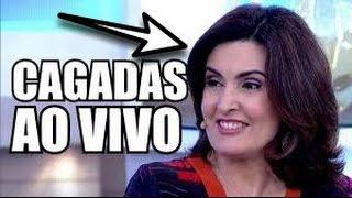 CAGADAS AO VIVO NA TV•