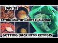 WHAT I EAT IN A DAY TO LOSE WEIGHT BEEF & BUTTER FAST  | DAY 28 GETTING BACK INTO KETOSIS