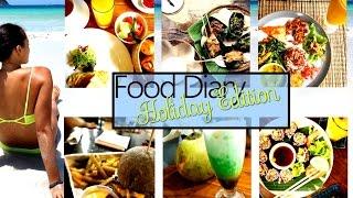 Food Diary - Meine Ernährung im Urlaub - Cheat Day und Clean Eating