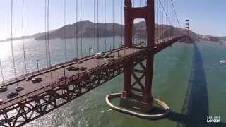 Flying Over San Francisco with the Phantom 2 Vision+(Wanting to get a unique perspective of San Francisco, I made numerous trips to the city with my DJI Phantom 2 Vision+