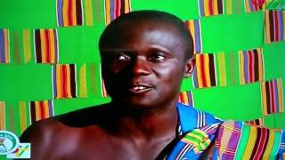 Kente fabric crafters