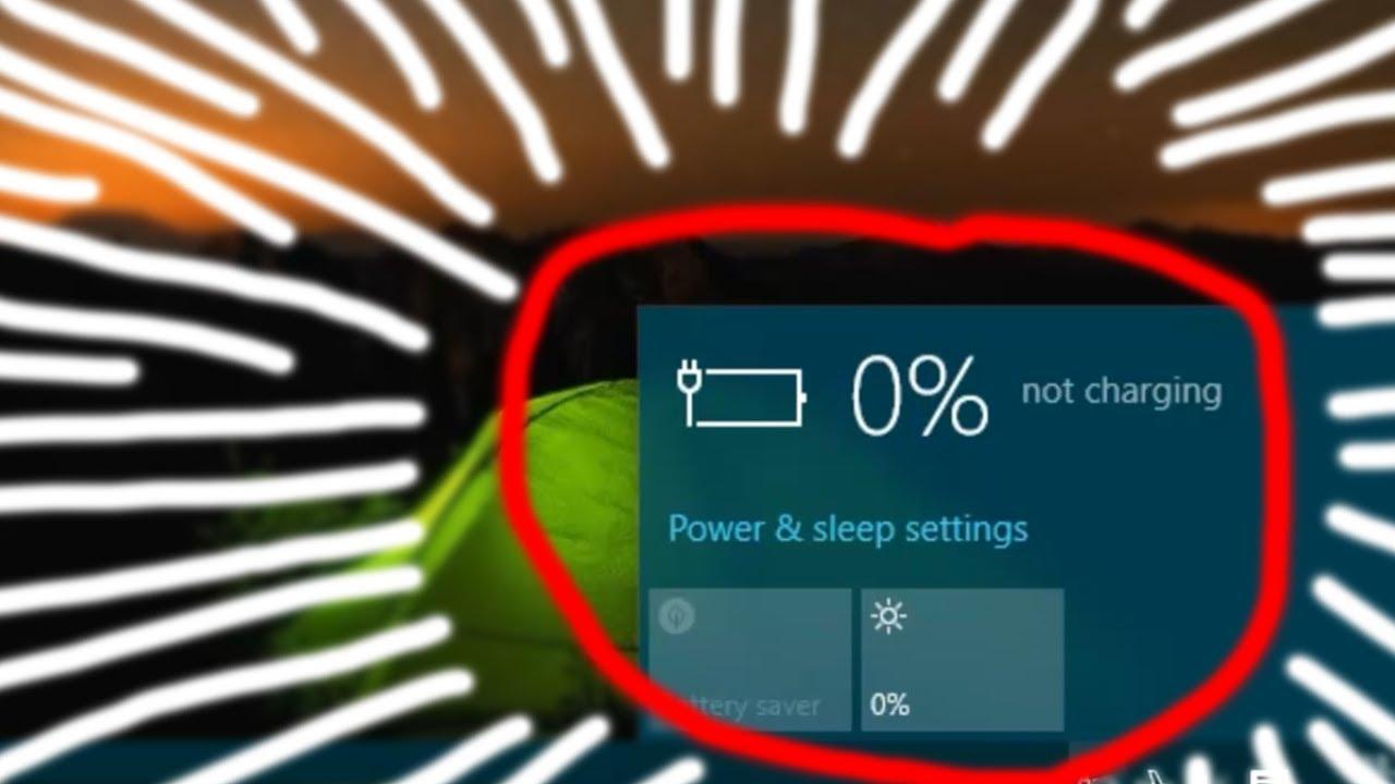 Cara Mengatasi Baterai Laptop Yang Not Charging Pada Baterai Tanam