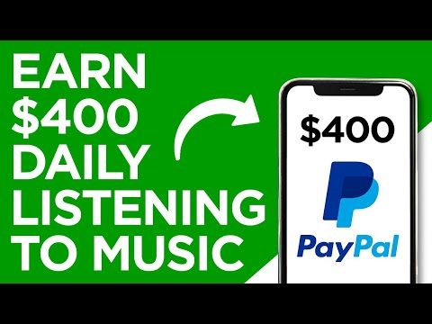 Make $400 Daily Listening To Music FREE (No Credit Card Required) Make Money Online Today