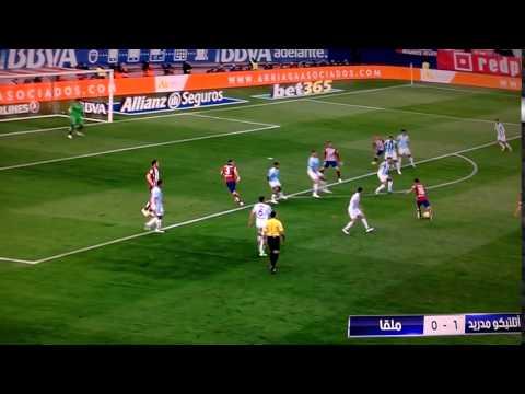 Atletico Madrid Vs Malaga 1-0 Goal HD 23-04-16