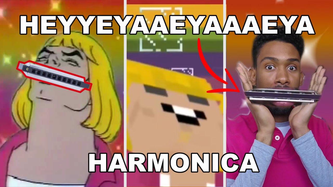 [Harmonica] HEYYEYAAEYAAAEYAEYAA - He Man + TABS