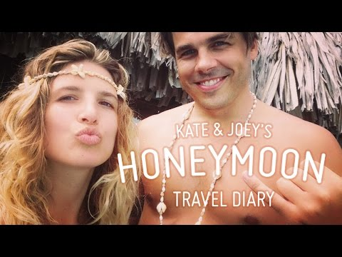 Honeymoon Travel Diary: Kate and Joey in Bora Bora