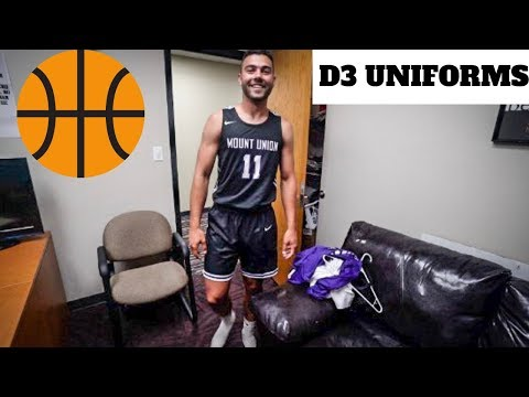 WHAT BASKETBALL UNIFORMS DO WE GET AT THE D3 LEVEL?!?!