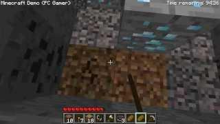 MineCraft Demo - Diamonds location - Part 1