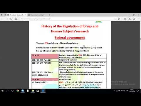 Regulatory part 1organization and Laws  by dr rania khairy 2017