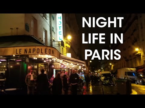 Where's the Nightlife in Paris?