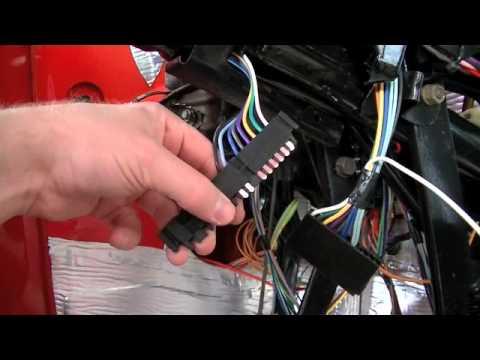 Part 11 C10 Wiring Repair Universal Wiring Harness - YouTube