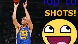 STEPHEN CURRY WITH THE SHOT BOY!