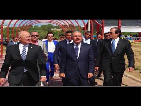 4RD | Noticias | Presidente entrega Jardín Botánico de Santiago | Canal 4RD