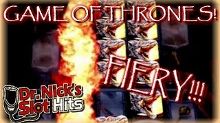 **HUGE WIN!!/LIVE PLAY!!!** Game of Thrones Slot Machine(MAX BET!!! These are my best wins from Game of Thrones during my trip to Vegas in August! The one hit could have been a MASSIVE Handpay if I lined up the ..., 2016-10-12T16:30:00.000Z)