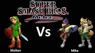 Canterbury Clash 1 - Molten (Young Link) Vs. Mike (Falco, Fox) SSBM Grand Finals