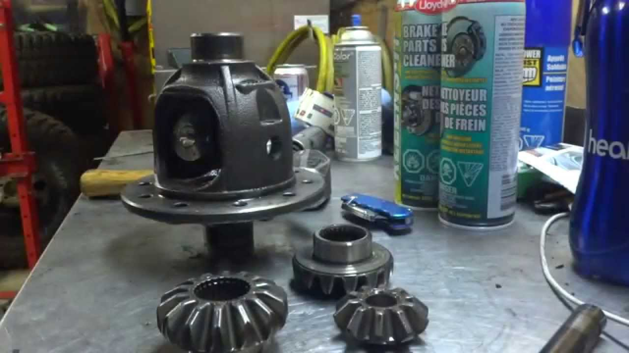 Xterra For Sale >> How to Remove Spider Gears from your Differential - YouTube