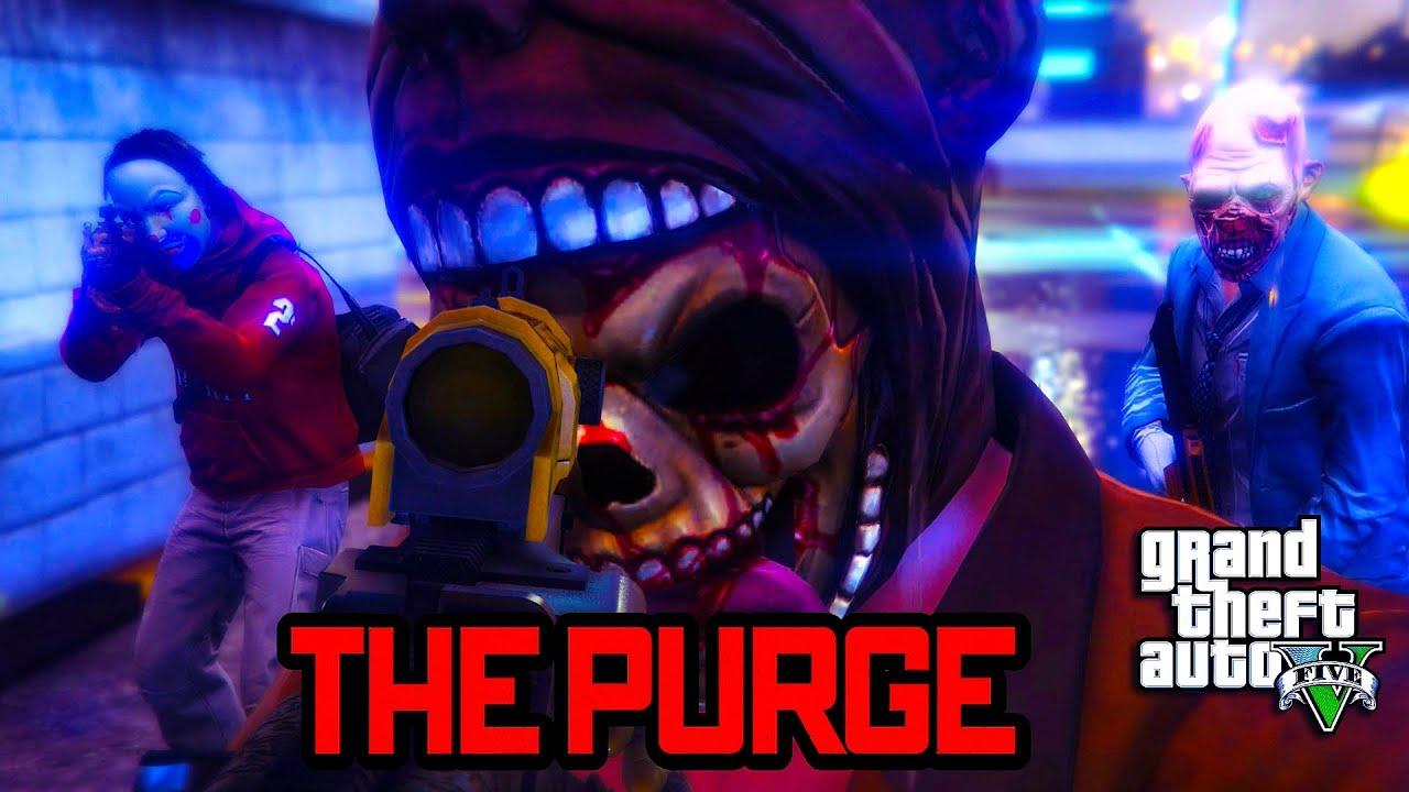 Download GTA 5 ONLINE - THE PURGE SEASON 2