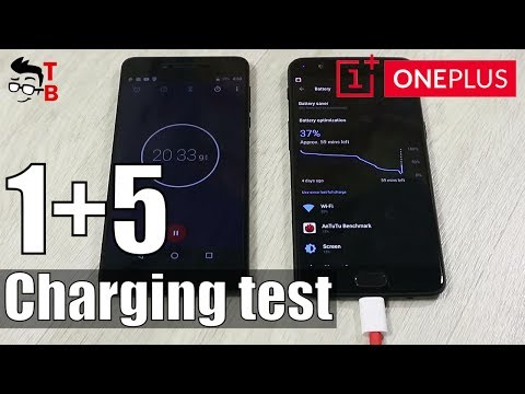 OnePlus 5 Battery Charging Test - How Fast Is Dash Charge?