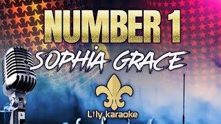 Sophia Grace - Number 1 (Karaoke Version)