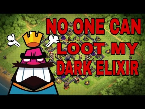 CLASH OF CLANS TH 8 DARK ELIXIR PROTECTION BASE | SAVE DARK ElIXIR