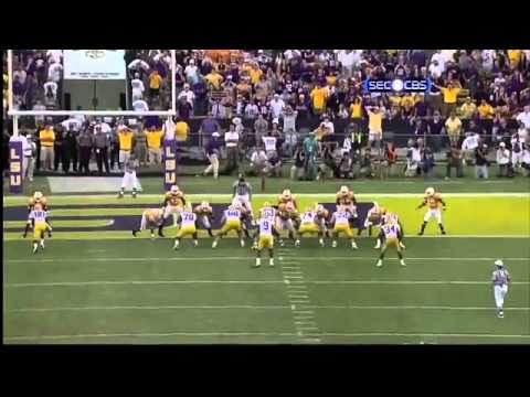 """LSU VS Tennessee 2010 """"Miracle Victory""""!"""