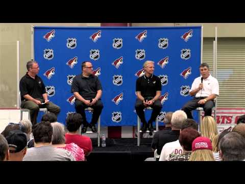 Phoenix Coyotes Town Hall Meeting