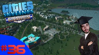 O SHOPPING A CÉU ABERTO!!! - Cities Skylines Campus #36 - (Gameplay / PC / PT-BR)