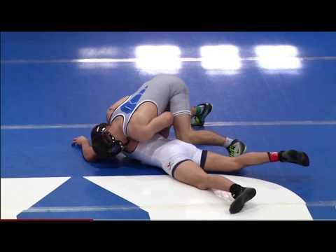 duke vs virginia 2016/17 wrestling dual highlights - 1