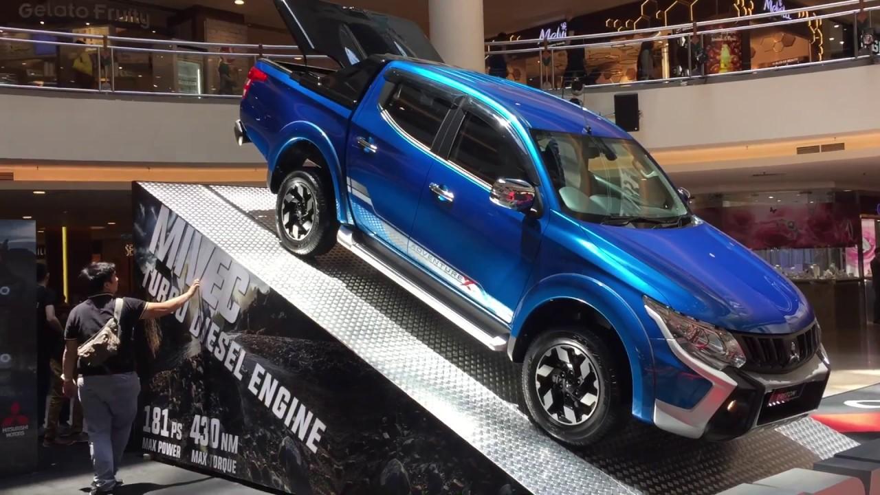 2017 Mitsubishi Triton VGT AdventureX Walk Around In Evo