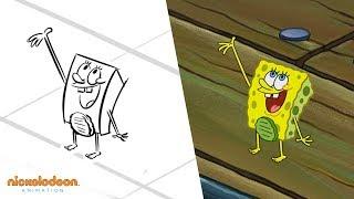 &quotThe Incredible Shrinking Sponge&quot Animatic  SpongeBob SquarePants  Nick Animation