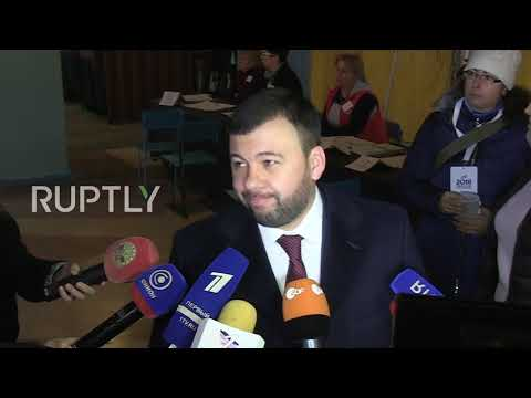 Ukraine: 'We want peace!' – Elections underway in Donbass