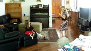 wild dancing kids