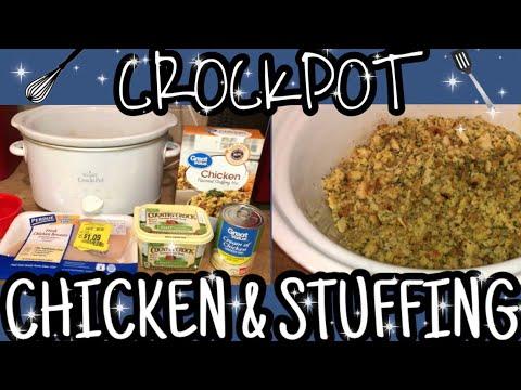Crockpot Chicken & Stuffing Recipe | Weight Watchers Wednesday