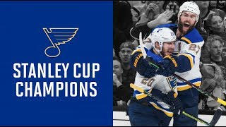 STL Blues vs BOS Bruins Game 7 Highlights- Stanley Cup Finals and Gloria Music Background