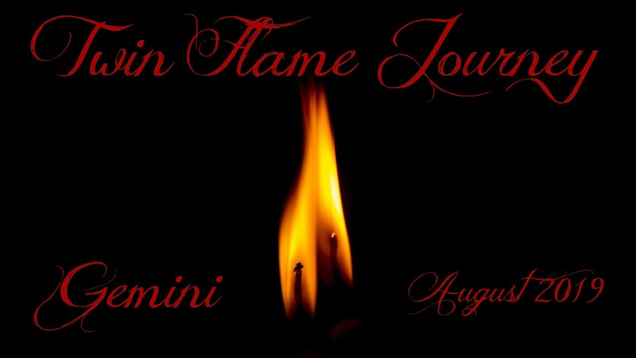 Gemini ~ One twin ready, one is not! ~ Twin Flame Journey August 2019