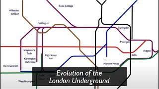 Evolution of the London Underground
