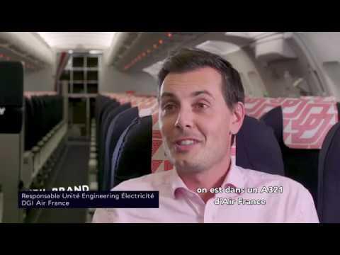 En première mondiale, Air France expérimente la technologie du LiFi en vol