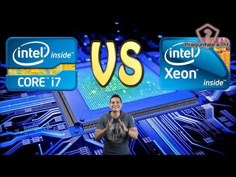 Intel Core i7 vs Xeon , cual procesador es mejor , cual es la diferencia