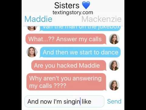 Maddie Ziegler lyric pranks Mackenzie Ziegler (Ed Sheeran Shape of you)