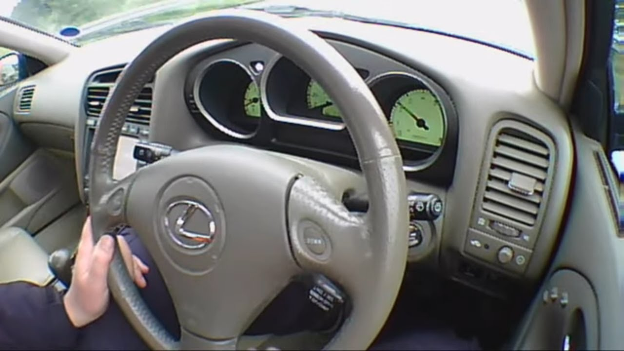 Lexus Gs 3 0 2004 Review Road Test Test Drive Youtube