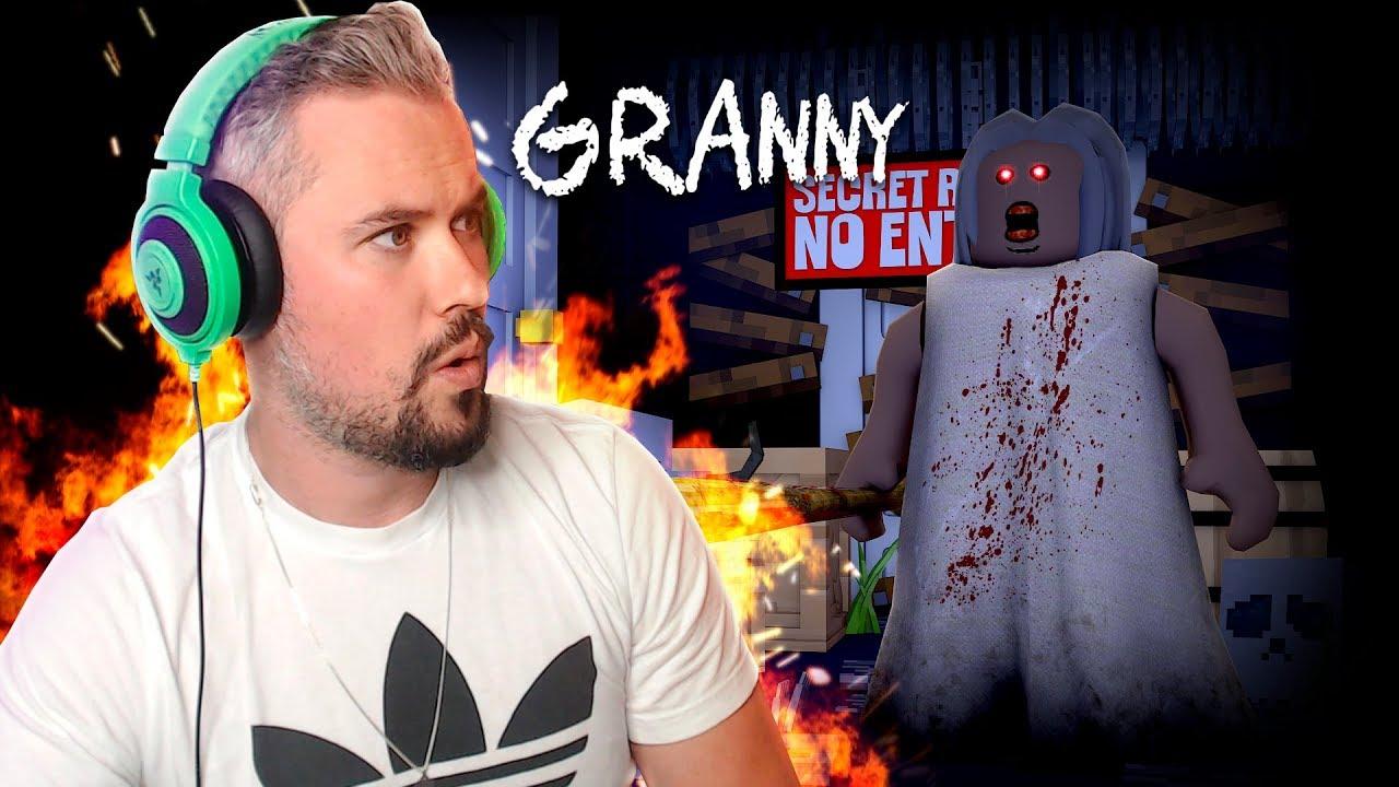 Escape Evil Grandma S House In Roblox Youtube - Evil Granny S House In Roblox W Tinyturtle Youtube