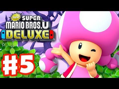 New Super Mario Bros U Deluxe Gameplay Walkthrough Part 5 Soda