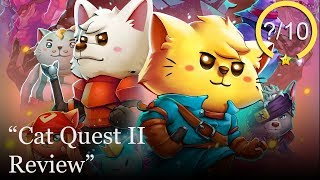 Cat Quest 2 Review [PS4, Switch, Xbox One, & PC] (Video Game Video Review)